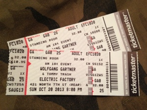 Tommy Trash, Wolfgang Gartner Tickets